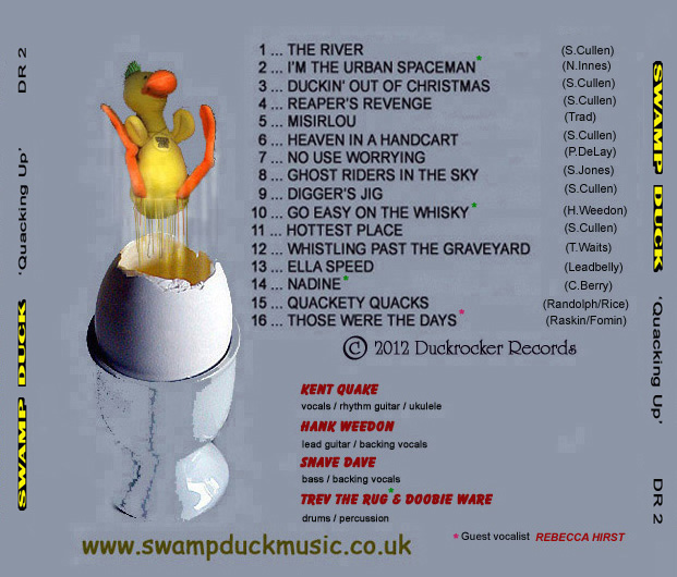 Quacking Up back cover